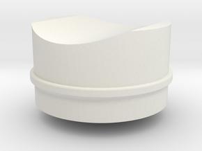 Ahsoka Tano Lightsaber - Button 2 in White Natural Versatile Plastic