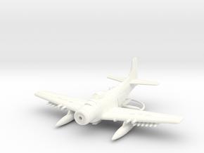 1/144 Douglas AD-6 (A-1H) Skyraider in White Processed Versatile Plastic