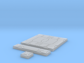 SciFi Tile 15 - Detailed in Smooth Fine Detail Plastic