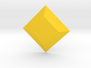Steven Universe - Gem - Yellow Diamond in Yellow Strong & Flexible Polished