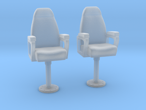 1/96 USN Capt Chair in Smooth Fine Detail Plastic