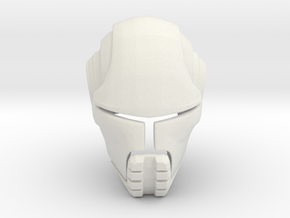Starkiller Helmet Star Wars: Force Unleashed in White Natural Versatile Plastic