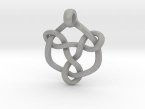 Celtic Knot Pendant 01 in Aluminum