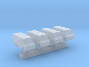 1:350 Scale USAF Crew Van in Smooth Fine Detail Plastic