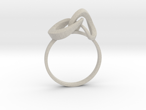 Infinite Ring in Natural Sandstone
