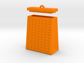 TEA BAG SEEPER in Orange Processed Versatile Plastic