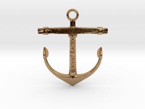 OldAnchor in Polished Brass