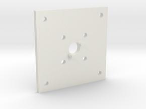 Luminus LED adapter for corsair h90 water cooler in White Natural Versatile Plastic
