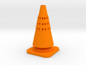 CONE TEA in Orange Processed Versatile Plastic