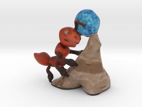 Worker Ant in Full Color Sandstone