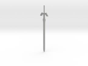 Master Sword in Aluminum