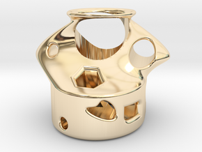 Toytoy61 in 14k Gold Plated Brass