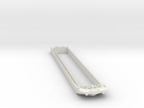 Binnenvaart Duwbak 1:160 spoor n in White Natural Versatile Plastic