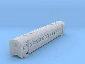 Queensland Railcar 2  nd car no window bars. in Smooth Fine Detail Plastic