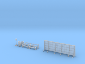 NGPLM26 Modular PLM train station in Smoothest Fine Detail Plastic