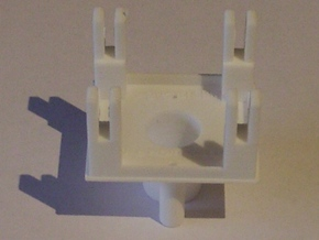 SBR Ratio signal motorising base (single) in White Natural Versatile Plastic