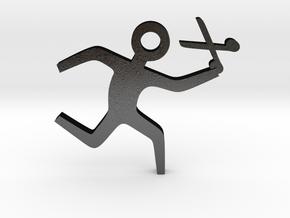 Running with Scissors in Matte Black Steel