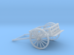 5 inch Pioneer Handcart in Smooth Fine Detail Plastic