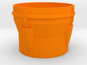 Blaster 40mm Lens Flare in Orange Processed Versatile Plastic