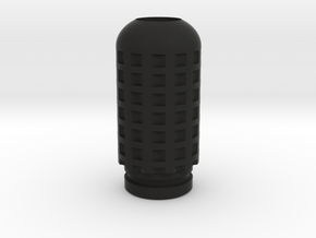 Drip Tip #1 in Black Natural Versatile Plastic