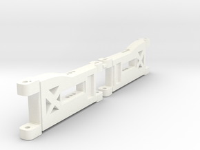 B5m Front 3hole Arms in White Processed Versatile Plastic