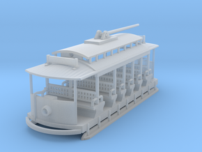 Sintra Tram Z Scale in Smooth Fine Detail Plastic