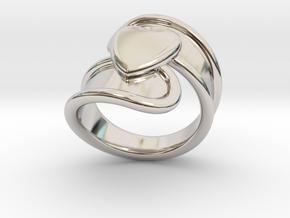 Valentinodayring  18 - Italian Size 18 in Platinum