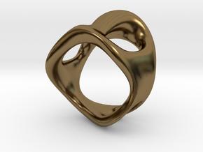 s3r032s7 GenusReticulum in Polished Bronze