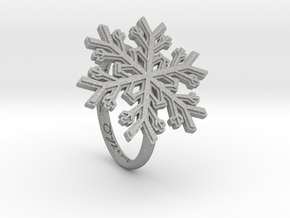 Snowflake Ring 1 d=17mm h21d17 in Aluminum