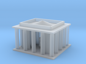 Lincoln Memorial in Smooth Fine Detail Plastic