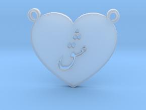 Love Eshgh Pendant in Smooth Fine Detail Plastic