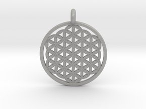 Flower Of Life in Aluminum