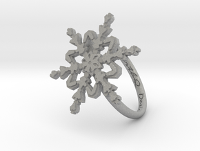 Snowflake Ring 2 d=18mm h21d18 in Aluminum