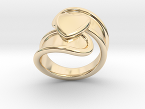 Valentinodayring  24 - Italian Size 24 in 14K Yellow Gold