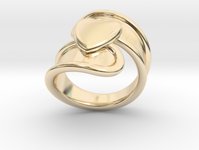 Valentinodayring  25 - Italian Size 25 in 14K Yellow Gold