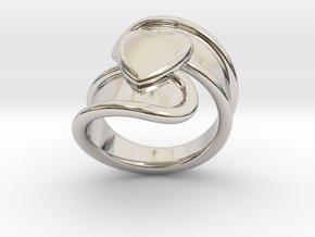 Valentinodayring  26 - Italian Size 26 in Platinum