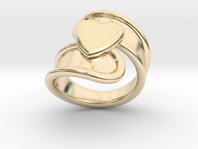 Valentinodayring  30 - Italian Size 30 in 14K Yellow Gold