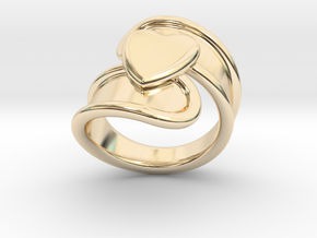 Valentinodayring  32 - Italian Size 32 in 14K Yellow Gold