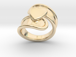 Valentinodayring  33 - Italian Size 33 in 14K Yellow Gold
