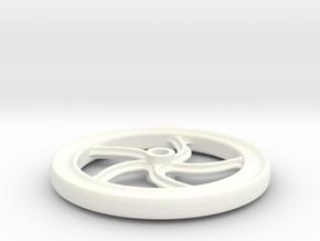 7/8n2 brakewheel in White Processed Versatile Plastic