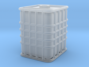 HO ICB tank with out pallet in Smooth Fine Detail Plastic
