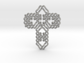 Celtic Cross Weave in Aluminum