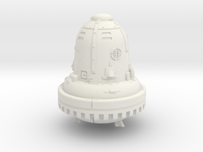 1:144 The Bell (Die Glocke) in White Natural Versatile Plastic