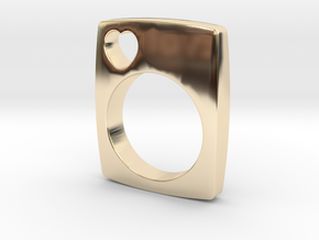 The Love Ring in 14K Yellow Gold