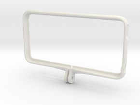 iPhone 6+ Holder for Gopro mounts in White Natural Versatile Plastic