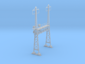 CATENARY PRR LATTICE SIG 2 TRACK 2 PHASE N SCALE  in Smooth Fine Detail Plastic