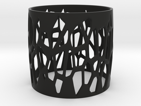 ALDRA bangle  in Black Natural Versatile Plastic