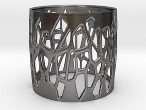 ALDRA bangle  in Polished Nickel Steel