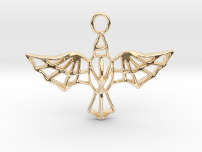 AETHON pendant in 14K Yellow Gold