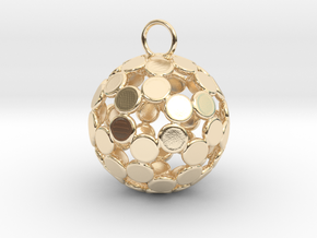 ColorBall Pendant in 14k Gold Plated